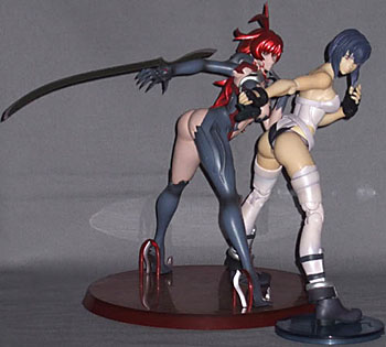 Ghost In The Shell Lesbian