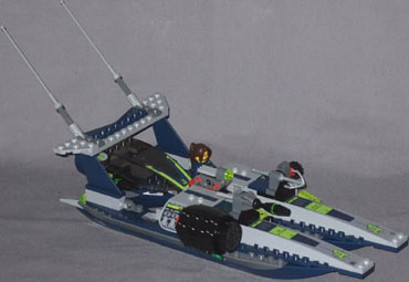 how to build a lego speedboat