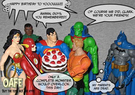 birthday happy birthday, superman oafe blog