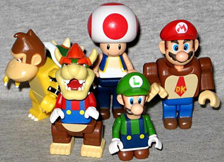 Details about  /Super Mario Bros.Wii K/'NEX Luigi
