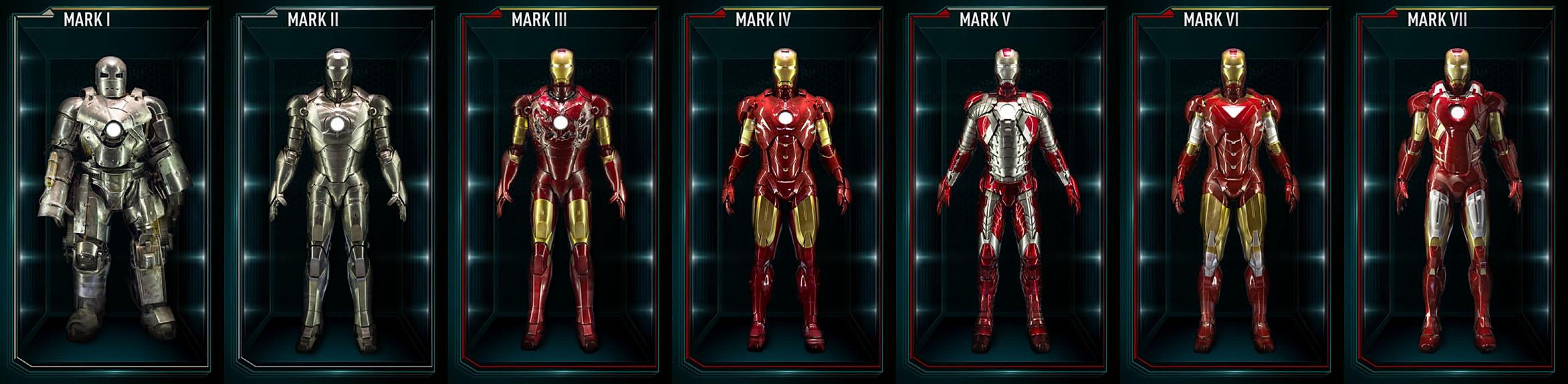 All 42 Iron Man movie armors | OAFE – Blog