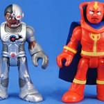 Red Tornado & Cyborg