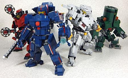 Lego Jaegers