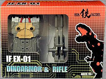EX-01 Dinoarmor & Rifle