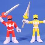 Red & Yellow Rangers