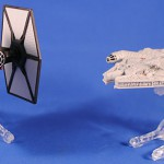 TIE Fighter vs Millennium Falcon