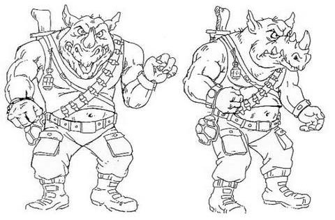 An Amazing Collection Of Tmnt Model Sheets Oafe Blog