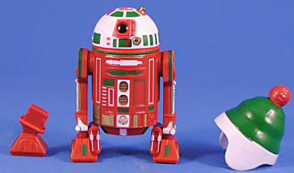 Red w Removable Beanie! R2-H16 Holiday Droid Factory 2016
