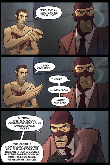Team Fortress 2 The Spy Addendum Oafe Blog