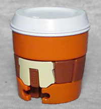 LATTE Spice Whirl Transformers botbots Series 3 Fresh Squeezes Pumpkin Spice
