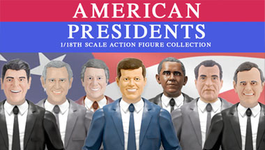 American Presidents action figure collection
