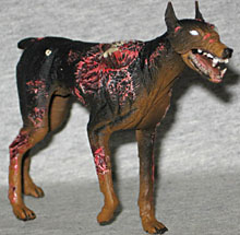 The gallery for --> Zombie Doberman
