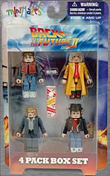 BTTF 2 Back to the Future II Movie Minimates Future Marty McFly