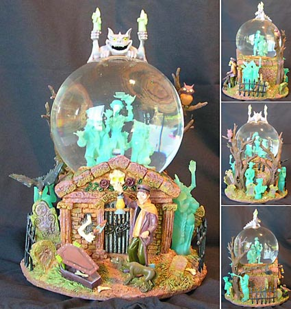 Oafe Haunted Mansion Snowglobe Review