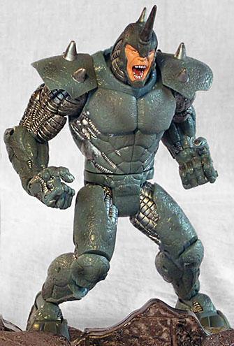 Ultimate Spider Man Rhino Suit