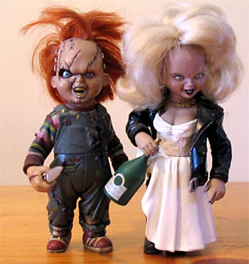 Chucky and Bride of Chucky Halloween Costumes
