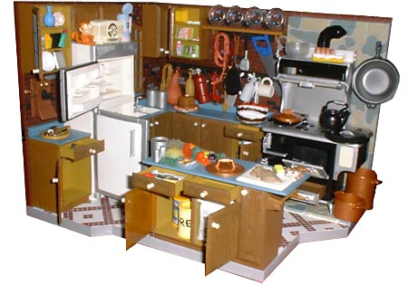 To Go With The Enormous Kitchen It S Got All The Accessories Plates Utensils Food Jumper Cables Everything We Count Altogether 40 Accessories