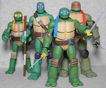 Oafe Batman Vs Teenage Mutant Ninja Turtles Alfred Michelangelo Exclusive Reviews