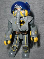 MINIMATES Marvel DC C3 Minimates SDCC Exclusive Stealth Batwing Pilot Batman