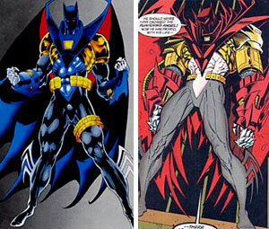 In that the figure is ... & OAFE - DC Universe Classics 16: Azrael Batman review