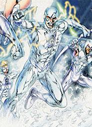 To White Lantern Flash Art