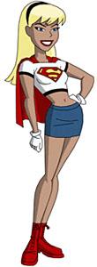 Kara is wearing the mid-90s