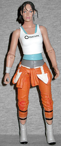 Oafe Neca Player Select Portal 2 Chell Review