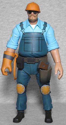 Oafe Neca Player Select Team Fortress 2 Blu Engineer Review