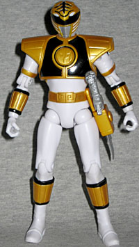 Oafe Power Rangers Super Legends Mighty Morphin White Ranger