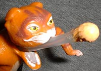 Shrek 2 Puss In Boots With Firing Hairball Action Figures