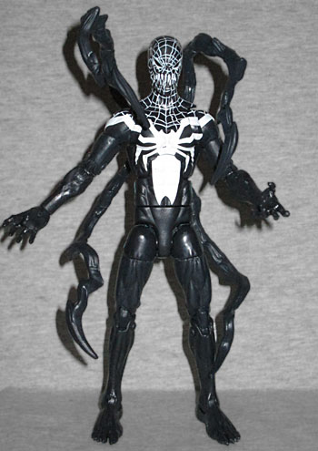oafe spiderman marvel legends superior venom review