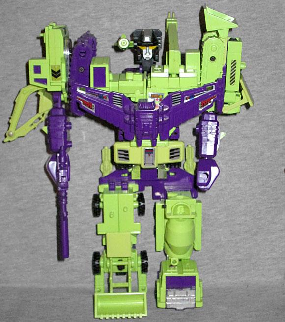 OAFE - Transformers: Devastator review