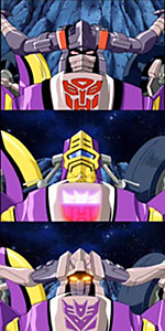 oafe transformers armada sideways review