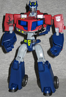 Optimus Prime Transformers Animated