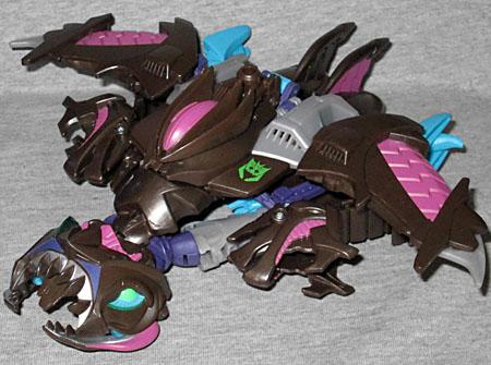 Oafe Transformers Prime Sharkticon Megatron Review
