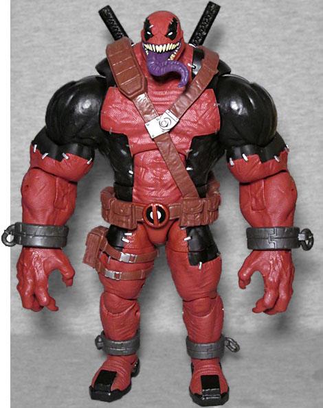 Marvel Legends Torso /& Swords action figure Venompool BAF parts lot Deadpool
